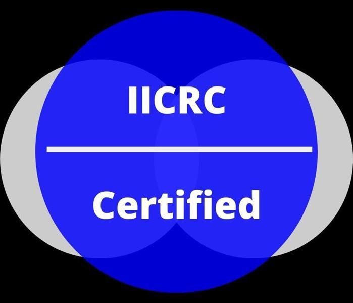 Logo of IICRC ( The Institution of Inspection Cleaning and Restoration Certificate)